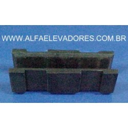 CORREDIÇA 33 X 32 X 100 PARA GUIA 16 MM NY